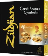 Zildjian K Custom Hybrid Set + Crash 18 Offerte
