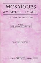 Bardez Jean-michel - Mosaiques 3eme Niveau 1ere Serie