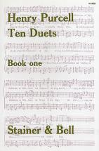Partitions Chant - Purcell - Ten Duets, Book 1