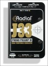 Radial J33 Di Active Phono Preamp
