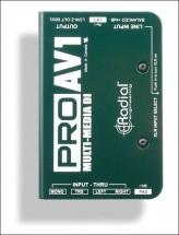 Radial Pro Av1 Di Passive Mulitmedia Mono