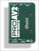 Radial Pro Av2 Di Passive Multimedia Stereo