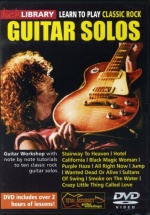 Learn To Play Classic Rock Solos Volume 1 [dvd] - Guitar