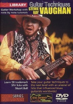 Lick Library - Stevie Ray Vaughan Guitar Techniques [dvd] - Guitar