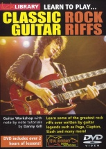 Lick Library - 20 Classic Rock Riffs [dvd] - Guitar