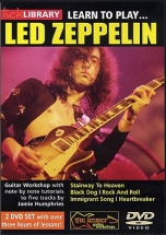Learn To Play Led Zeppelin [dvd] - Guitar