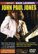 Dvd Lick Library Bass Legends John Paul Jones