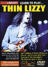 Learn To Play Thin Lizzy [dvd] - Guitar
