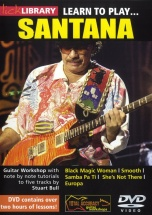 Learn To Play Santana [dvd] - Guitar