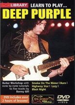 Learn To Play Deep Purple [dvd] - Guitar
