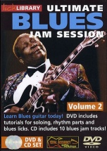 Ultimate Blues Jam Session Volume 2 [dvd] - Guitar