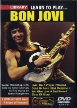 Learn To Play Bon Jovi [dvd] - Guitar