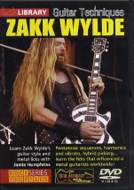 Zakk Wylde Guitar Techniques [dvd] - Guitar