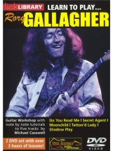 Lick Library Learn To Play Rory Gallagher - Guitare