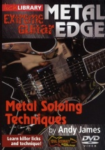Lick Library - Metal Edge - Metal Soloing Techniques [dvd] - Guitar