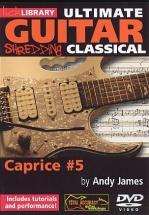Lick Library - Ultimate Guitar Techniques Shredding Classical - Caprice No.5 - Guitar