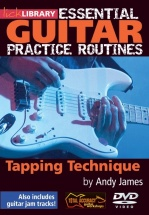 Lick Library - Essential Practice Routines - Tapping Technique [dvd] - Guitar