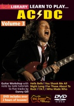 Lick Library - Learn To Play Ac/dc - Volume 3 [dvd] - Guitar