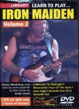 Dvd Lick Library Learn To Play Iron Maiden Vol.2