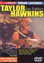 Lick Library - Drum Legends - Taylor Hawkins [dvd] - Drums