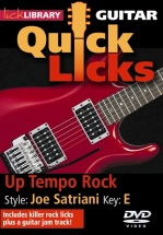 Lick Library - Quick Licks - Joe Satriani Up-tempo Rock [dvd] [2008] [ntsc] - Guitar