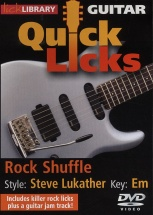 Lick Library Quick Licks Rock Shuffle S. Lukather Dvd