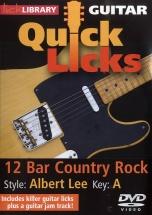 Lick Library - Quick Licks - Albert Lee 12 Bar Country Rock [dvd] [2009] - Guitar
