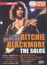 Lick Library Learn To Play Blackmore Ritchie The Solos Dvd - Guitare