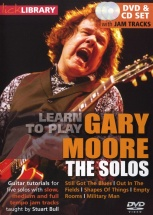 Lick Library Learn To Play Moore Gary The Solos Cd/dvd - Guitare