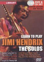 Lick Library Learn To Play Hendrix Jimmy The Solos Cd-dvd - Guitare
