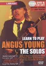 Lick Library Learn To Play Angus Young The Solos - Guitare