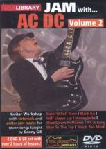 Lick Library Jam With Ac/dc Vol.2 2 Dvd & 1 Cd - Guitare
