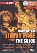 Lick Library Learn To Play Jimmy Page The Solos - Guitare