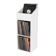 Glorious Dj Record Box 330 White