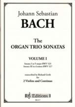Bach J.s. - Organ Trio Sonatas Vol.1 - 2 Violons and Bc (richard Gwilt)