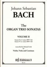 Bach J.s. - Organ Trio Sonatas Vol.2 - Violon, Alto & Bc (richard Gwilt)