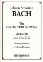 Bach J.s. - Organ Trio Sonatas Vol.3 - Violon, Alto & Bc (richard Gwilt)