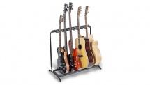 Rockgear Rack Pour 3 Guitares/basses Electriques Et 2 Acoustiques