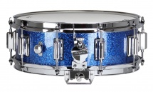Rogers Drums Dyna-sonic 14? X 5? 36-bsl Blue Sparkle - Beavertail