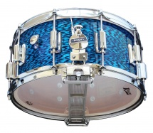 Rogers Drums Dyna-sonic 14 X 6.5 37-blo Blue Onyx - Beavertail
