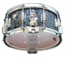 Rogers Drums Dyna-sonic 14 X 6.5 37-bp Black Pearl - Beavertail