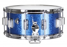 Rogers Drums Dyna-sonic 14? X 6.5? 37-bsl Blue Sparkle - Beavertail