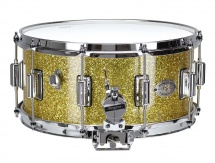 Rogers Drums Dyna-sonic 14 X 6.5 37-gsl Gold Sparkle - Beavertail
