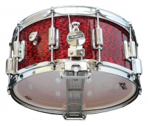 Rogers Drums Dyna-sonic 14 X 6.5 37-ro Red Onyx - Beavertail
