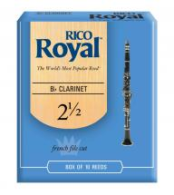 Rico Anches De Clarinette  Sib  Royal 2.5
