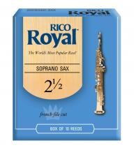 Rico Anches De Saxophone Soprano Rico Royal 2.5