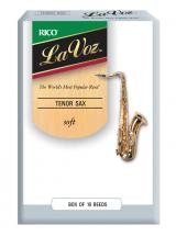 Rico Anches De Saxophone Tenor Rico Lavoz Soft