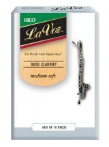 Rico Anches De Clarinette  Basse  Lavoz Medium Soft