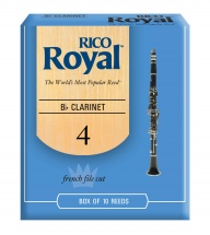 Rico Anches Clarinette Royal Sib Force 4.0 Pack De 10