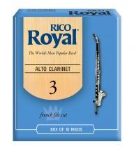 Rico Anches Clarinette Royal Alto Force 3.0 Pack De 10